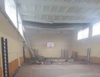 По факту обрушения потолка в школе в Стерлитамаке прокуратура организовала проверку