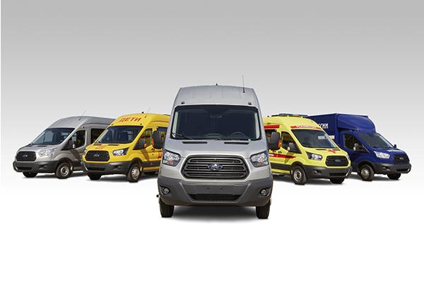 Компания «Соллерс» планирует запустить производство электрического Ford Transit в РФ в 2022 году