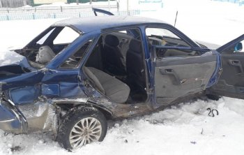 МЧС: В результате ДТП в Башкирии пострадали пятеро детей