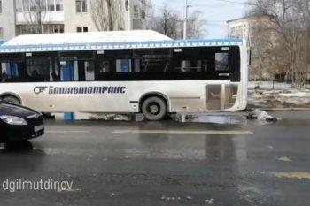 В Уфе пассажирский автобус НефАЗ насмерть сбил 48-летнего жителя Янаула