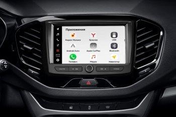 С 12 апреля АвтоВАЗ начал продажи автомобилей Lada Vesta с новой мультимедийной системой EnjoY Pro