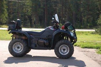 Квадроциклы, снегоходы и мотовездеходы в РФ смогут отправлять на штрафстоянки в 2021 году