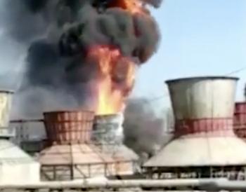 МЧС: Назаводе «Синтез-Каучук» вСтерлитамаке произошёл пожар