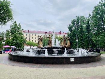 В Уфе открылся сезон работы фонтанов