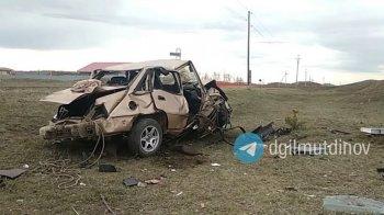 Три человека погибли в опрокинувшемся автомобиле на трассе в Абзелиловском районе Башкирии