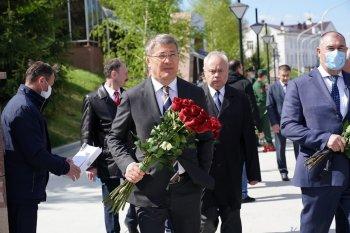 Глава Башкирии Хабиров рассказал о своём любимом военном памятнике в Уфе