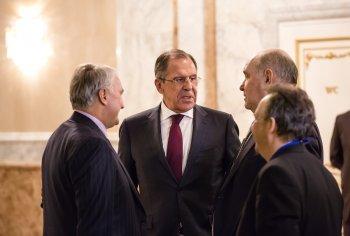 Лавров пошутил по поводу возможной встречи Путина и Байдена
