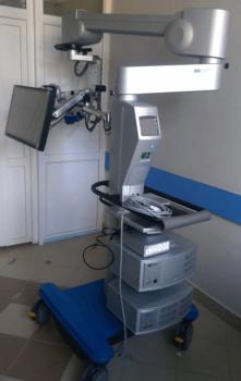 Нацпроект «Здравоохранение»: в Стерлитамакскую больницу поступил операционный стереотаксический микроскоп