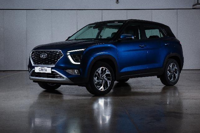 Компания Hyundai представила для покупателей в России новый кроссовер Creta