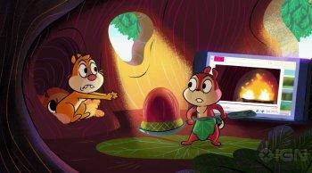 Disney показал трейлер обновленной версии мультсериала «Чип и Дейл»
