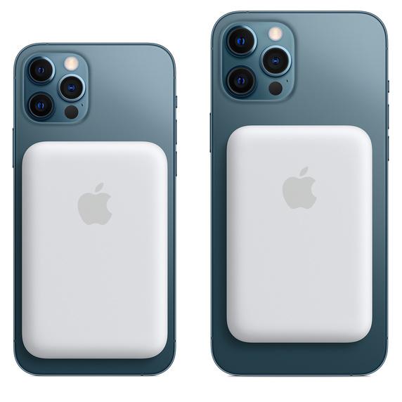 Компания Apple представила для пользователей беспроводной аккумулятор-магнит для iPhone 12