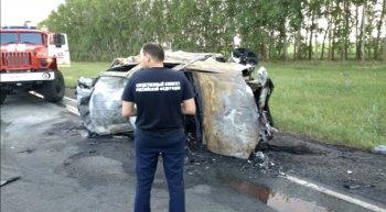 Уголовное дело возбуждено в Башкирии по факту ДТП на трассе М-7, в котором погибли шесть человек