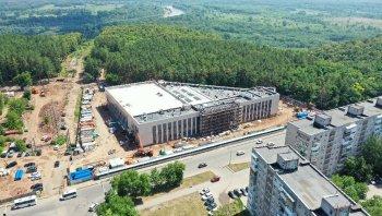 Строительство Центра гимнастики в Уфе за 786 млн рублей завершат до конца 2021 года