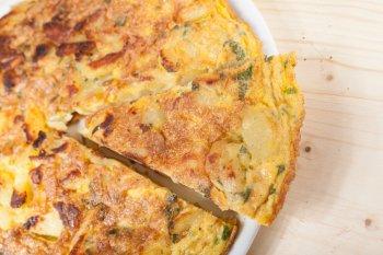Фриттата с картофелем и сыром: рецепт вкусного и сытного итальянского омлета