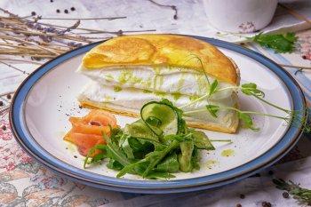 Вкусный, пышный и нежный омлет «Пуляр»: простой рецепт французского сытного завтрака