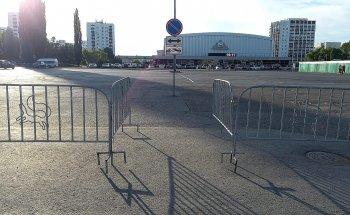 Мэр Уфы Сергей Греков сообщил об окончательном закрытии парковки перед Дворцом спорта