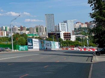 Строительство транспортной развязки на улице Заки Валиди в Уфе завершат к 15 августа