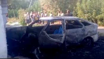 Водитель врезался в дом и заживо сгорел в Стерлитамаке