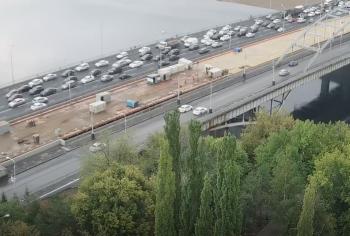 Радий Хабиров: Завершен монтаж пролета моста-вставки через реку Белая в Уфе