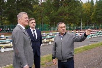 Хабиров высказал мнение о необходимости реконструкции социальных объектов в закрытом городе Межгорье